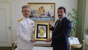 Kuzey Deniz Saha Komutanı Ertem'den, Vali Tavlıya ziyaret