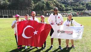 Down Sendromlu Ali Topaloğlu ikinci kez Dünya Şampiyonu