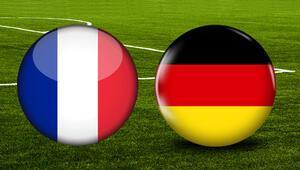 Fransa Almanya maçı bu akşam saat kaçta hangi kanalda canlı olarak yayınlanacak UEFA Uluslar Ligi