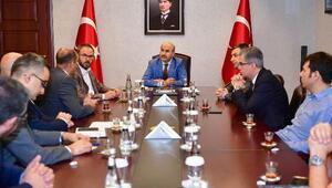 Vali Demirtaş başkanlığında düzenlenen toplantıda Aladağ maden işletmeleri değerlendirildi