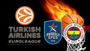 Anadolu Efes ve F.Bahçenin maçlarında öne çıkan iddaa tercihleri