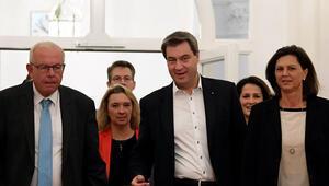 Bavyera'da koalisyon müzakereleri başladı