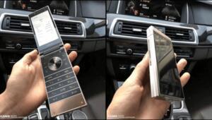 İşte Samsungun yeni kapaklı telefonu
