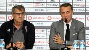 Şenol Güneş: Beşiktaşta olmaktan mutluyum