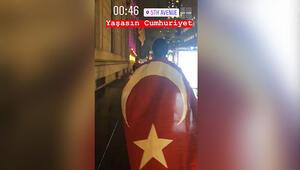 Nusret'ten 29 Ekim Cumhuriyet Bayramı kutlaması