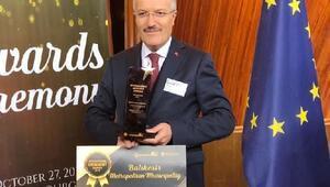 Başkan Kafaoğluna Fransa'dan anlamlı ödül