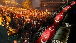 Türkiye uyumadı Cumhuriyet Bayramı gece de kutlandı