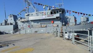Mayın Gemisi 'TCG Amasra' ziyarete açıldı