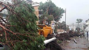 İtalya fırtına ve sel felaketi ile boğuşuyor