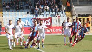 Trabzonspor kupada sürpriz yapmadı