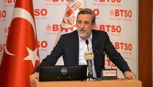 BTSO Başkanı Burkay: Piyasaların moral ve motivasyona ihtiyacı var