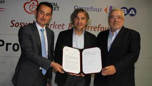 Sosyal Market ve CarrefourSA arasındaki işbirliği yenilendi