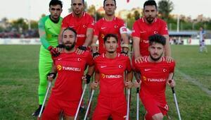 Ampute Milli Futbol Takımı çeyrek finale çıktı