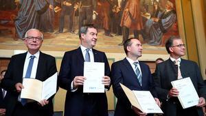 Bavyera'da imzalar atıldı