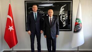 Başkan Yaşar, Ankara Barosu Başkanı Sağkan'ı ziyaret etti