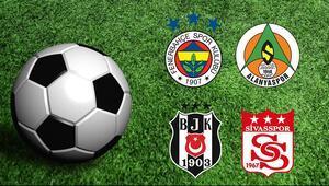 F.Bahçenin konuğu Alanya, Beşiktaşın ise Sivas iddaada en popüler...