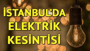 İstanbulun birçok ilçesinde elektrik kesintisi yaşanıyor... Elektrikler ne zaman gelecek