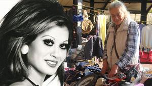 Ünlü sanatçı Serpil Örümcer pazar tezgahı başında