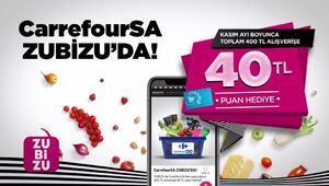 CarrefourSA ve ZUBİZUden iş birliği