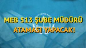 MEB il-ilçe milli eğitim müdürlükleri 513 şube müdürü kadrosunda görevde yükselme atama başvurusu duyurdu