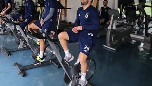 Fenerbahçede Trabzonspor hazırlıkları sürüyor