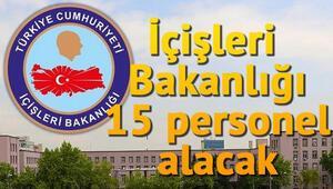 İçişleri Bakanlığı Giriş (Sözlü) Sınavı İle 15 AB Uzman Yardımcısı Alacak