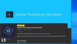 Adobe Photoshop Elements 2019 Microsoft Storeda yayınlandı