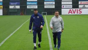 Fenerbahçede Tolga Ciğerci idmana çıktı