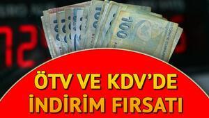 KDV ve ÖTV indirimleri ne zaman bitecek