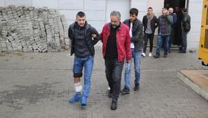 Silahlı kavga sonrası delilleri saklamak istediler, 10 kişi gözaltına alındı