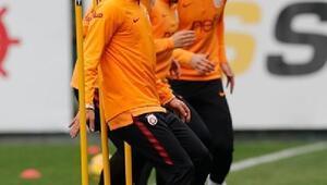 Galatasarayda Serdar, Eren, Ozan Kabak ve Nagatomo takımla çalıştı