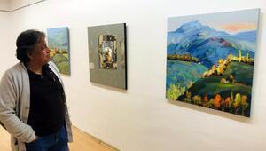 Azerbaycanlı ressamdan sergi