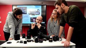 Akademi Beyoğlu'nda fotoğrafçılık atölyesi yoğun ilgi gördü