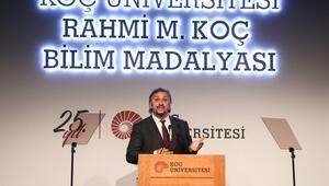Rahmi M. Koç Bilim Madalyası, Metin Sittiye verildi