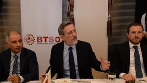 BTSO Başkanı Burkay: Dev projelerin açılışı için gün sayıyoruz