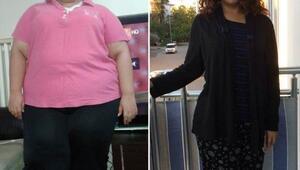 Tüp mide ameliyatıyla 15 ayda 95 kilo verdi