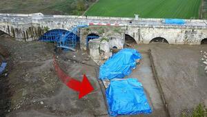 Sakarya'da bin 500 yıllık köprüde ortaya çıkarıldı