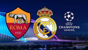Roma Real Madrid Şampiyonlar Ligi maçı bu akşam saat kaçta hangi kanalda canlı olarak yayınlanacak