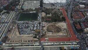 Erdoğan açıklamıştı; Rami Kışlasındaki son durum havadan fotoğraflandı