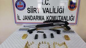 Siirtte silah kaçakçılarına operasyon