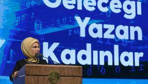 """Emine Erdoğan, """"Geleceği Yazan Kadınlar Projesi"""" tanıtım toplantısına katıldı"""