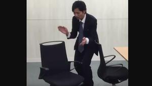 Japonlar yaptı Bu sandalyeden kalktığınız anda...