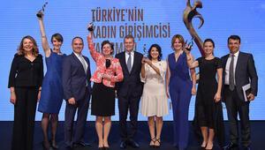 İlham Veren Girişimci Kadınlar ödüllerini aldı