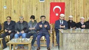 Vali Güzeloğundan şehit polis Öztekinin yakınlarına taziye ziyareti