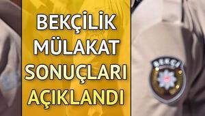 Bekçilik mülakat sonuçları açıklandı | Polis Akademisi sınav sonuçları sorgulama ekranı
