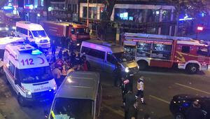 Son dakika... Ankarada doğalgaz hattında patlama: 7 yaralı