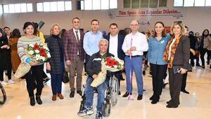 OKÜde Engeliler Spor Şenliğ