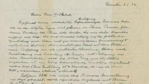 Albert Einsteinın Tanrı mektubu 2,9 milyon dolara alıcı buldu