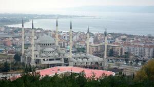 Diyanetten ÇOMÜ cami inşaatına 1 milyon TL destek