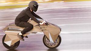 3D elektrikli motosiklet